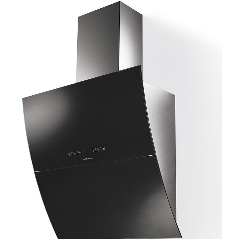 FABER MIRROR X/V A 90 čierne sklo 2.TRIEDA