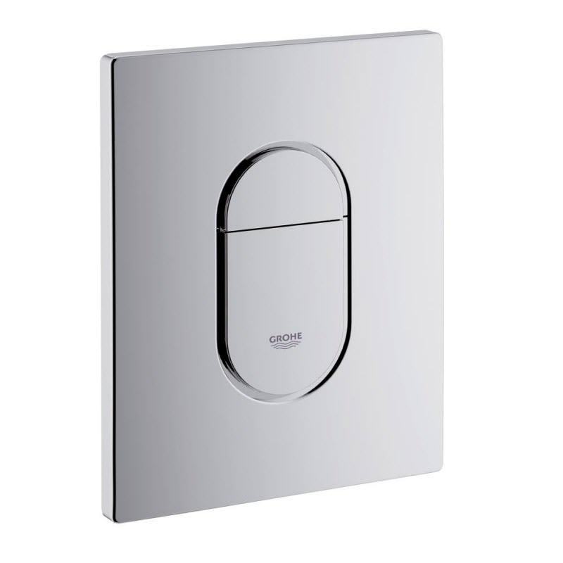GROHE ARENA ovládacie tlačítko WC vertikál chróm, 38844000