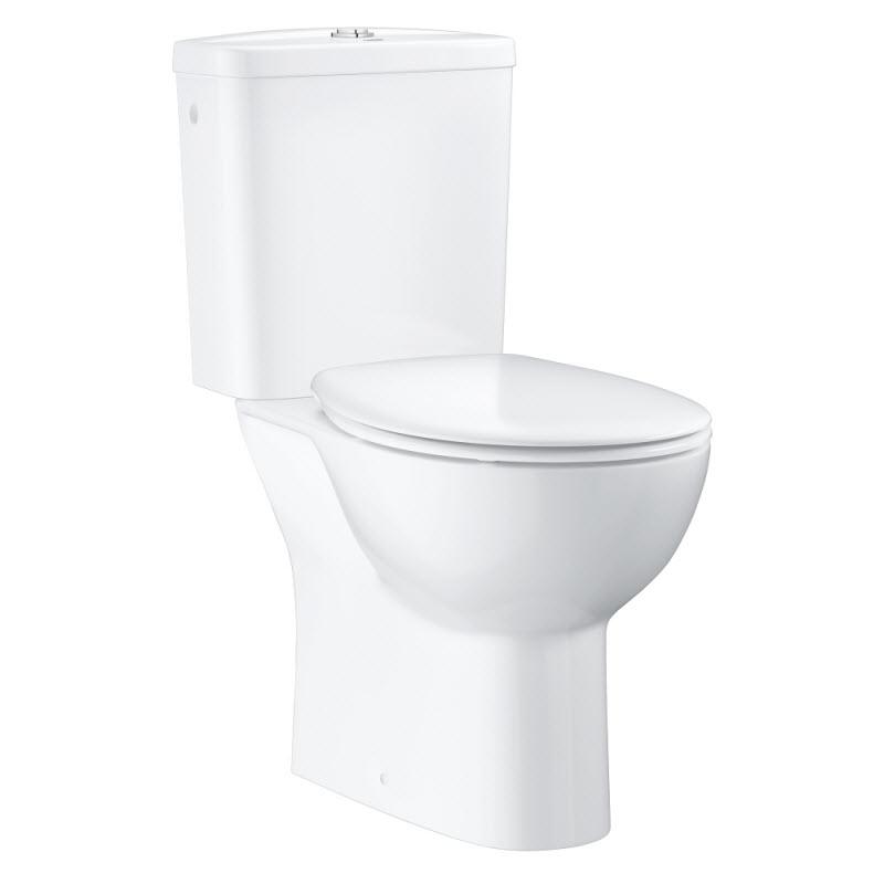 GROHE Bau Ceramic set 3v1 kombi WC rovný odtok 39347000