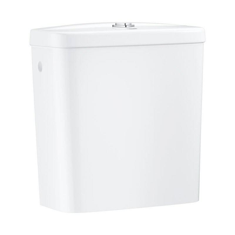 GROHE Bau Ceramic splachovacia nádrž k WC bočný prívod biela  39437000