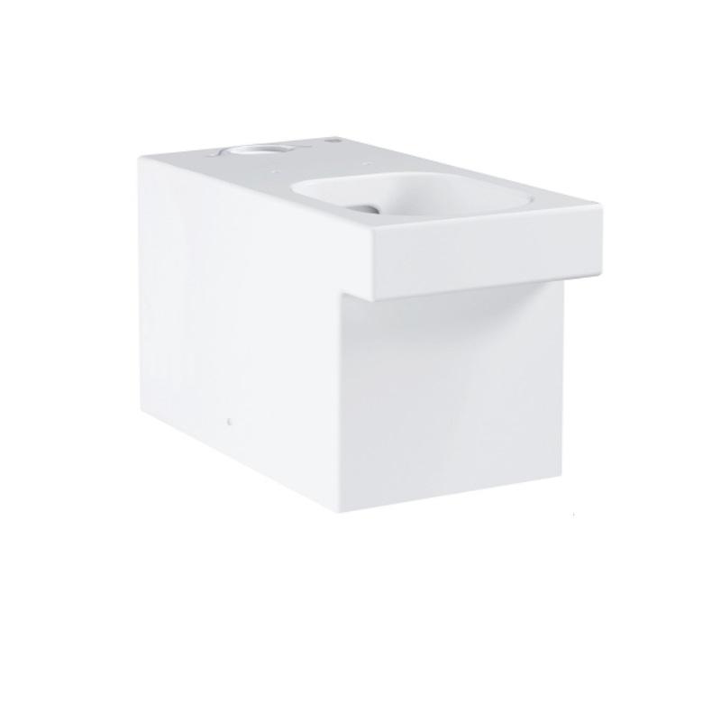 GROHE Cube Ceramic stojaca kombi WC misa Rimless, Triple Vortex, PureGuard 3948400H