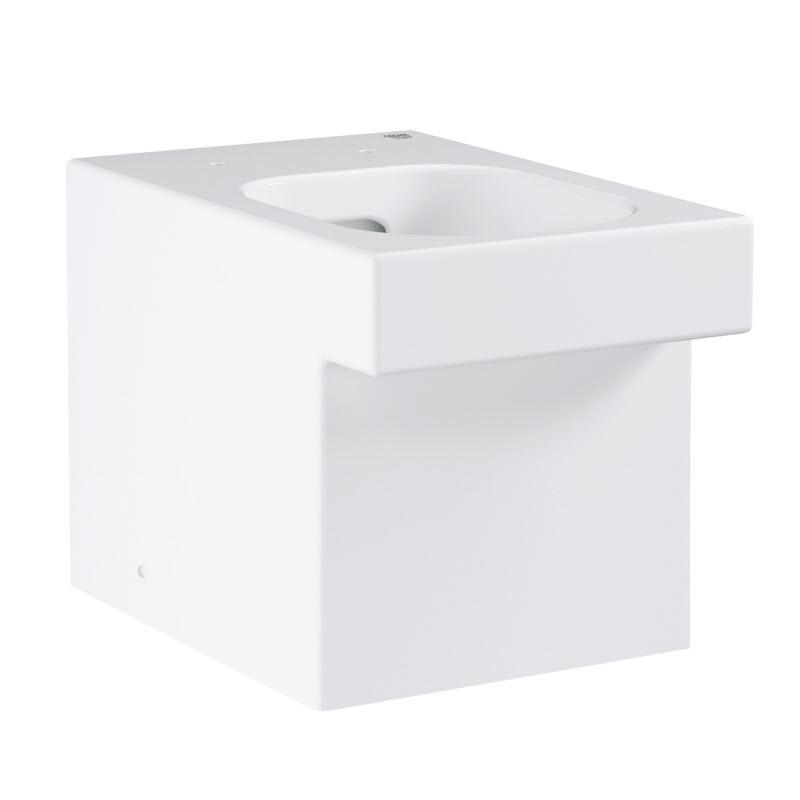 GROHE Cube Ceramic stojaca WC misa Rimless, PureGuard 3948400H