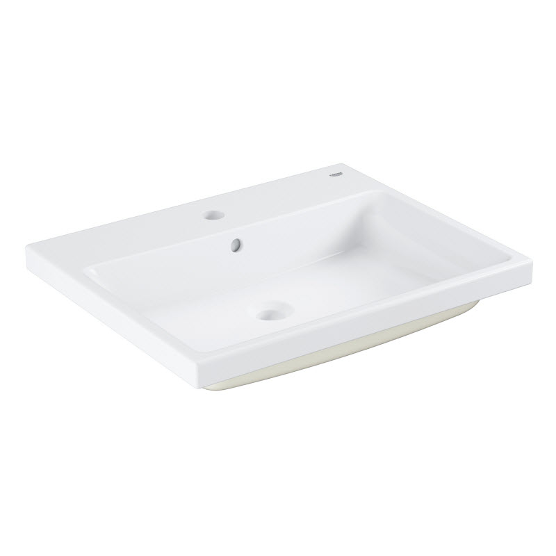 GROHE Cube Ceramic zápustné umývadlo 60 cm s prepadom PureGuard 3947900H