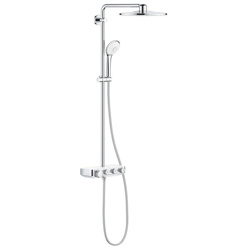 GROHE Euphoria SmartControl 310 Duo sprchový systém mesačná biela 26507LS0