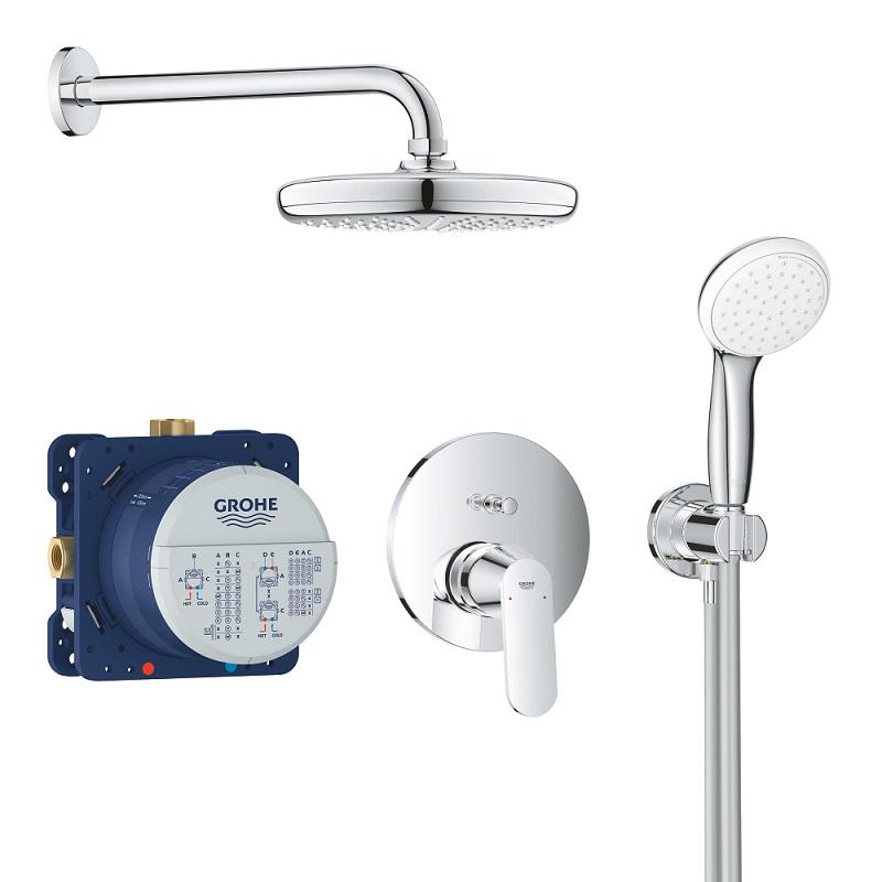 GROHE Eurosmart Cosmopolitan sprchový set so sprchou Temptesta 210 chróm 25219001