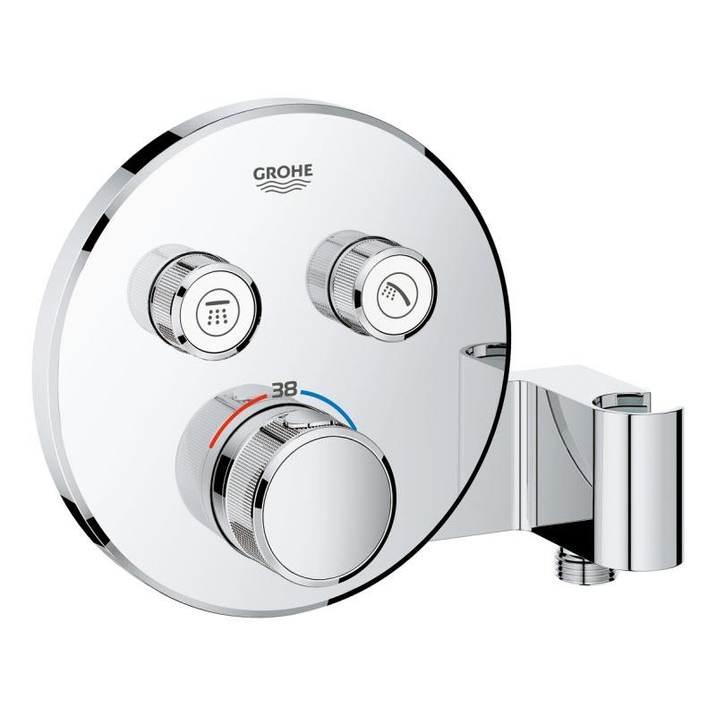 GROHE GROHTERM SmartControl termostatická sprchová batéria pod omietku na 2 odberné miesta 29120000
