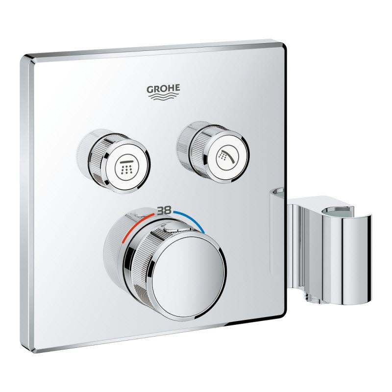 GROHE GROHTERM SmartControl termostatická sprchová batéria pod omietku na 2 odberné miesta 29125000
