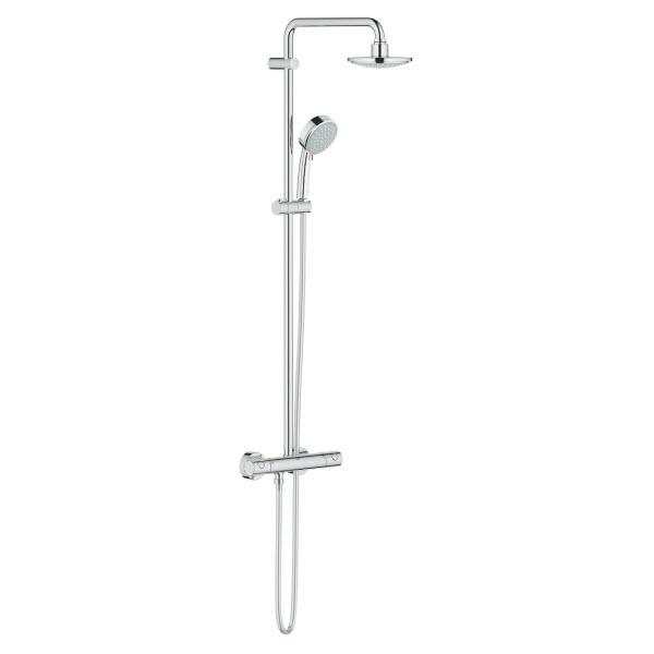GROHE New Tempesta Cosmopolitan 160 sprchový systém s termostatickou batériou chróm 27922000