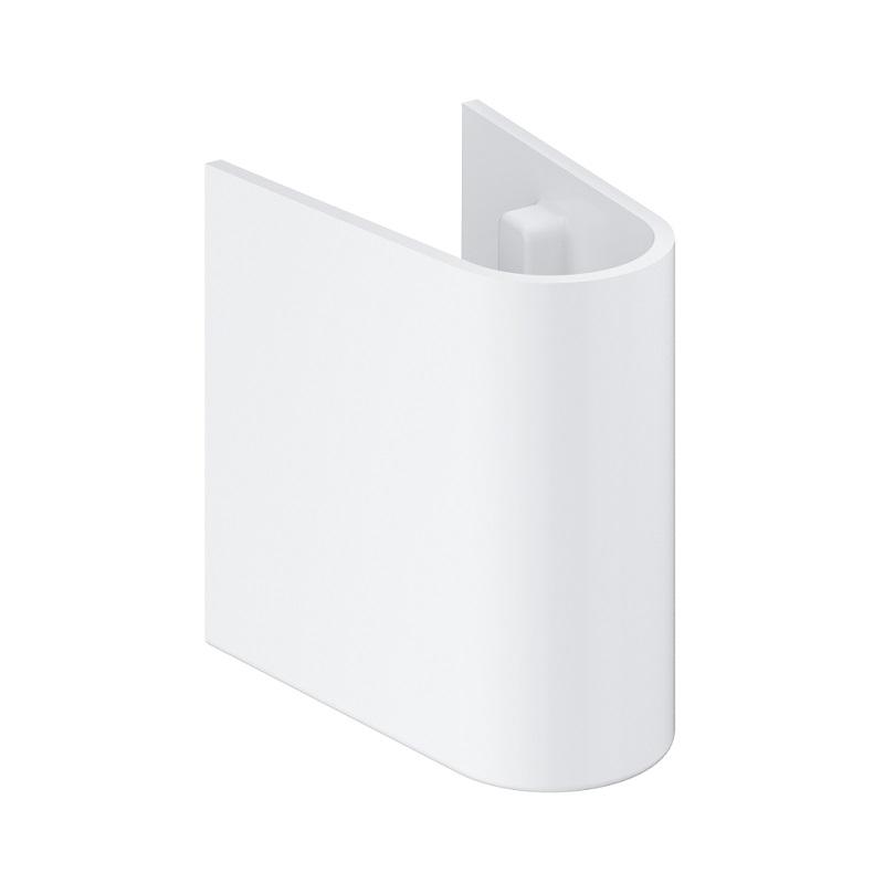 GROHE polostĺp k umývadielku EURO Ceramic 45 cm alpská biela 39325000