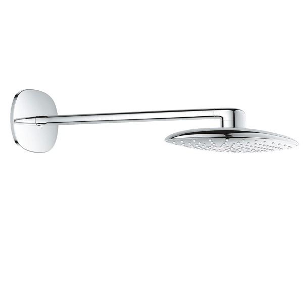 Grohe RAINSHOWER Mono 360 1jet nástenná hlavová sprcha s ramenom 450 mm chróm 26450000
