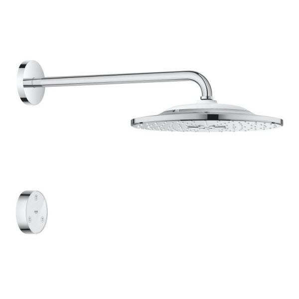 Grohe Rainshower SmartConnect hlavová sprcha 310 9,5 l/min s ramenom a diaľkovým ovládaním, 2 prúdy, chróm 26640000
