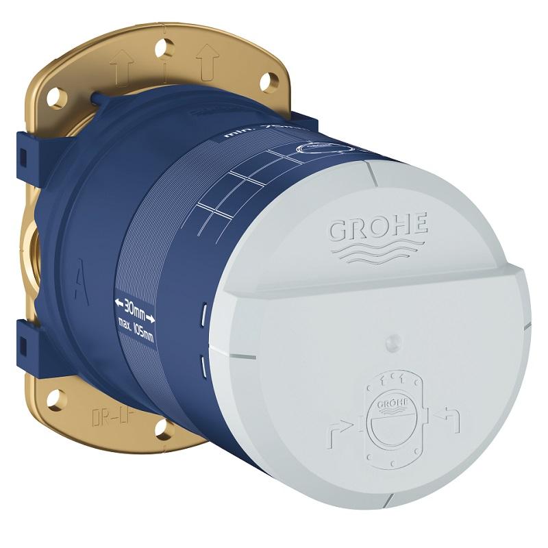 Grohe RAINSHOWER univerzálne zabudovateľné teleso s úspornou funkciou EcoJoy, max.prietok iba 9,5 l/min 26484000