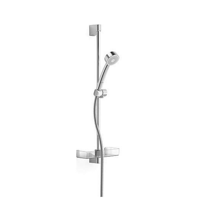 HANSA Basicjet sprchová sada 65cm s 1-polohovou sprchou priemer 70 mm chróm  44780211