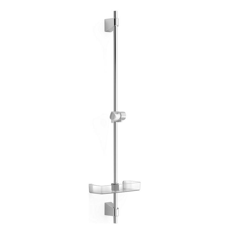 HANSA BASICJET tyč sprchová nástená s mydeličkou, chróm 44700300