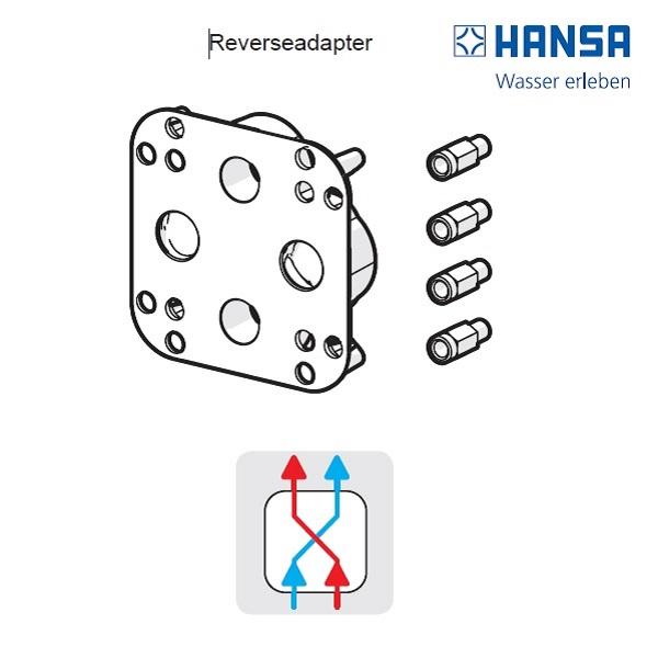 HANSA BlueBox - adaptér na zamenenu vodu teplá /studená  59914184