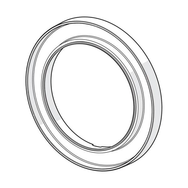 HANSA BlueBox - ružica nastavovacia okrúhla pre rozety priemer 170mm chróm  59914191