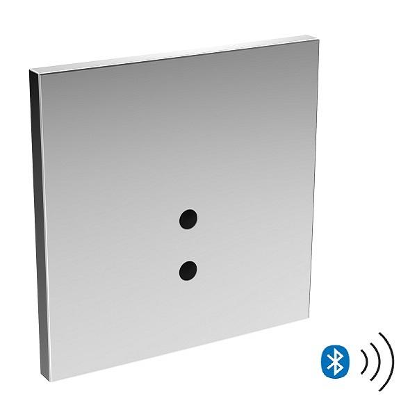 HANSA ELECTRA - pisoárový splachovač Bezdotykový,Bluetooth® na 230V/12V chróm( k telesu pod omietku), 09469179