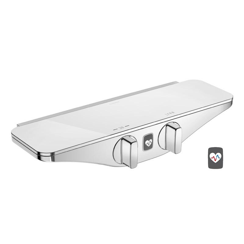 HANSA EMOTION Wellfit sprchová termostatická batéria chróm/biela 5863017282