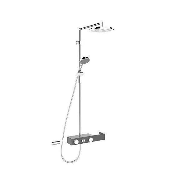 HANSA ForSenses sprchový termostatický systém antracit/chróm 6465020084