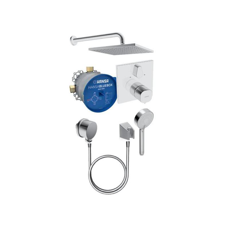 HANSA LIVING set sprchový termostatický hranatá sprcha 89950000