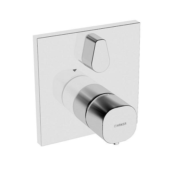 HANSA Living X vaňová batéria termostatická podomietková s ventilom 81149572