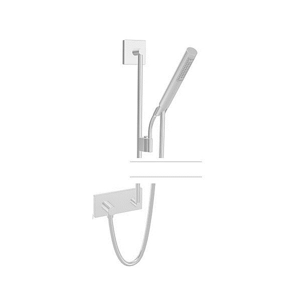 HANSA MATRIX sprchový set 110cm s prípojkou hadice chróm 44420100