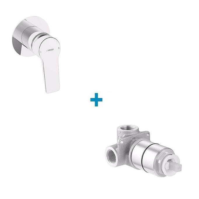 HANSA Twist PP set sprchová batéria + podomietkové teleso 49777003A50500100