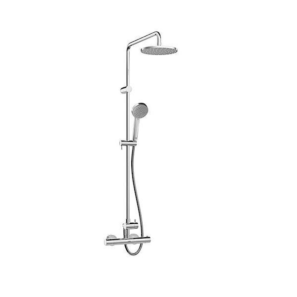 HANSA Unita Style sprchový systém VIVA s hlavovou sprchou chróm