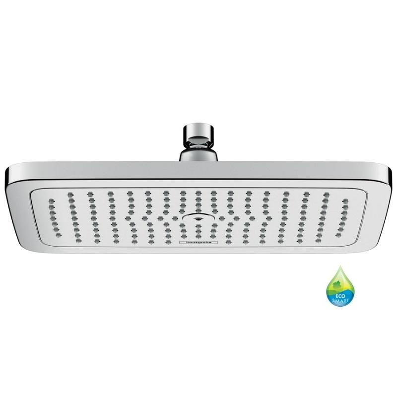 Hansgrohe Croma E hlavová sprcha 280 1jet EcoSmart k sprchovému ramenu chróm,  26258000