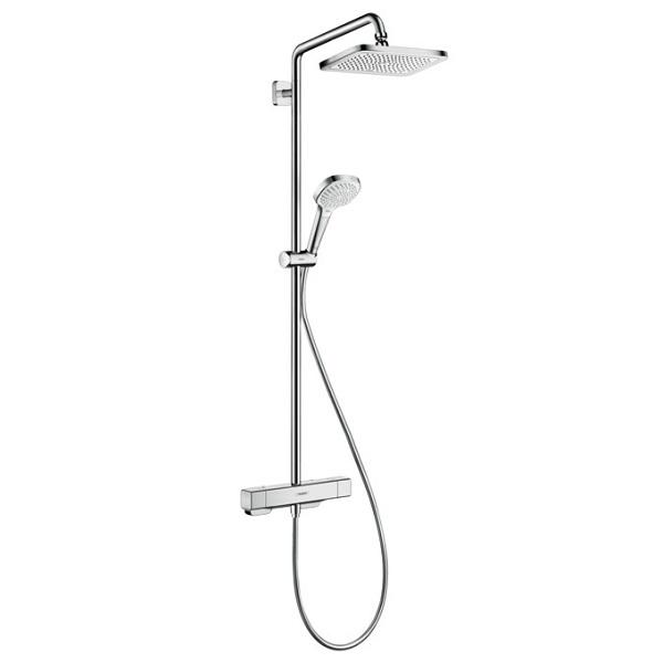 Hansgrohe CROMA E sprchový systém Showerpipe  280 1jet so sprchovým termostatom chróm, 27630000