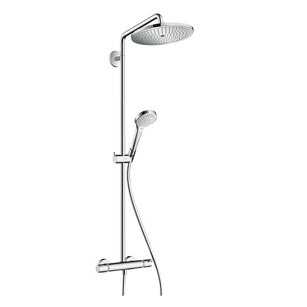 HANSGROHE Croma Select 280 Air sprchový systém 2jet Showerpipe s termostatom chróm 26794000