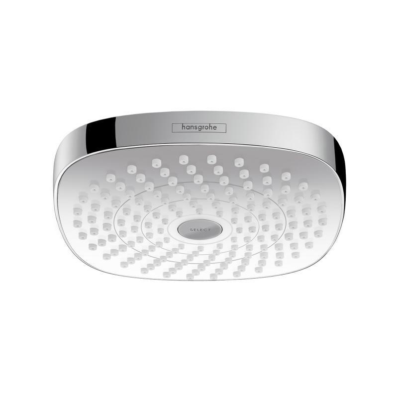 HANSGROHE Croma Select E 180 hlavová sprcha 2jet biela/chróm 26524400