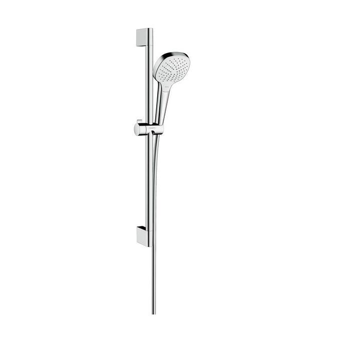 HANSGROHE Croma Select E Vario 3-polohový sprchový set EcoSmart 9 l/min biela/chróm 26583400