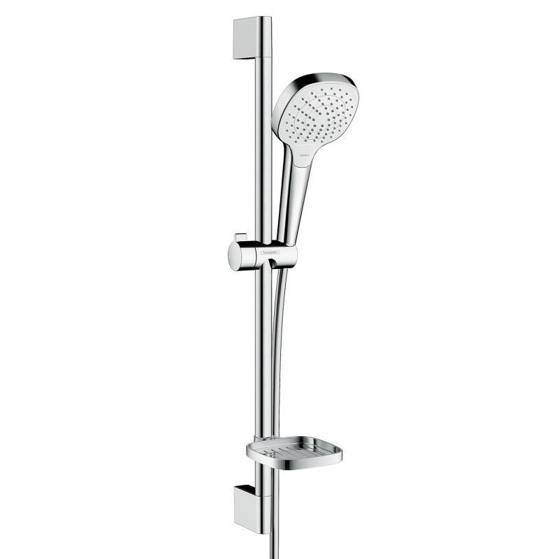 HANSGROHE Croma Select E Vario 3-polohový sprchový set s miskou na mydlo