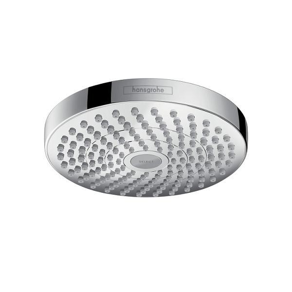HANSGROHE Croma Select S - Horná sprcha 180 2jet, chróm 26522000