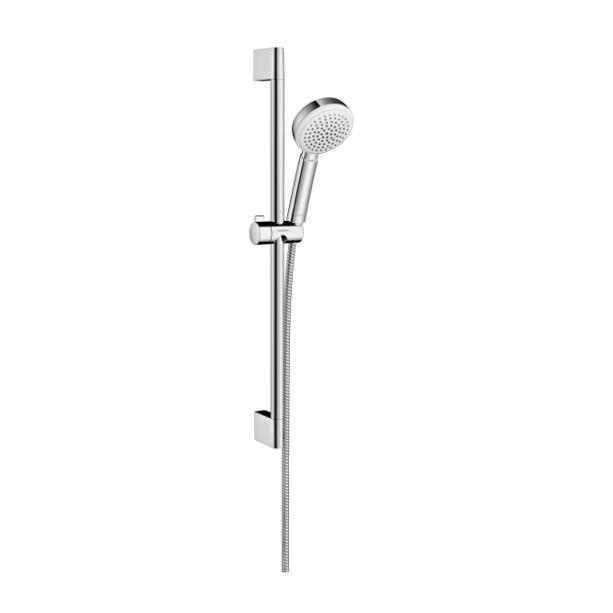 HANSGROHE Crometta 100 set sprchový 1jet biela/chróm 26652400