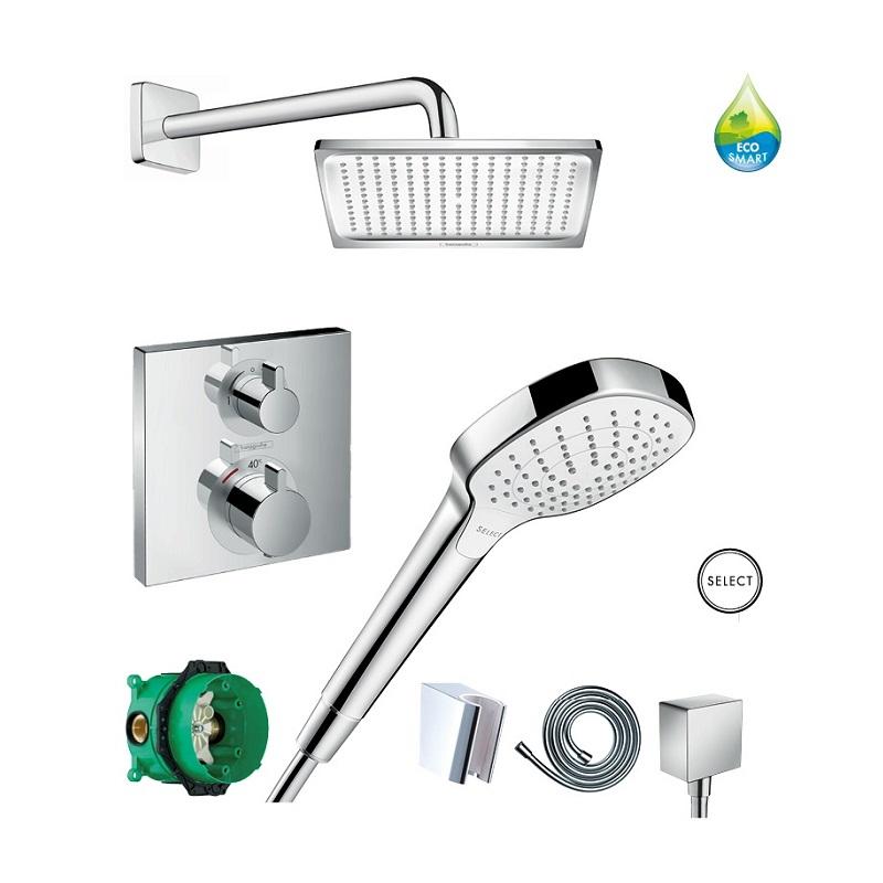 HANSGROHE Crometta E 240 sprchový set 8v1 EcoSmart chróm 369702