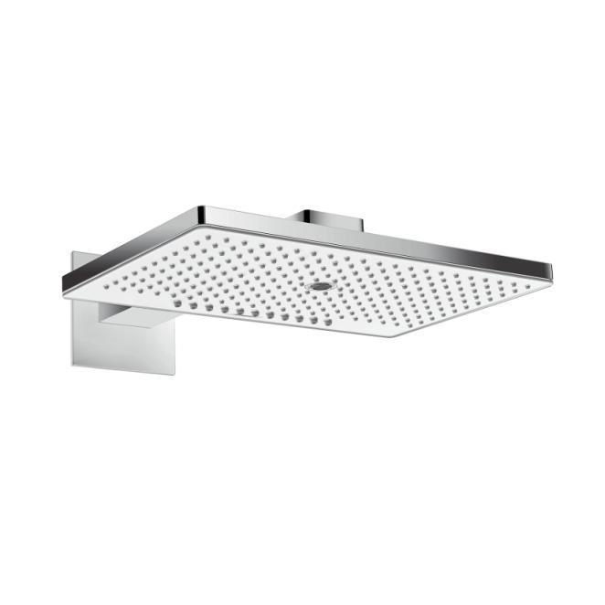 HANSGROHE Raindance Select E hlavová sprcha 460 3jet EcoSmart s ramenom 390mm biela/chróm 24017400