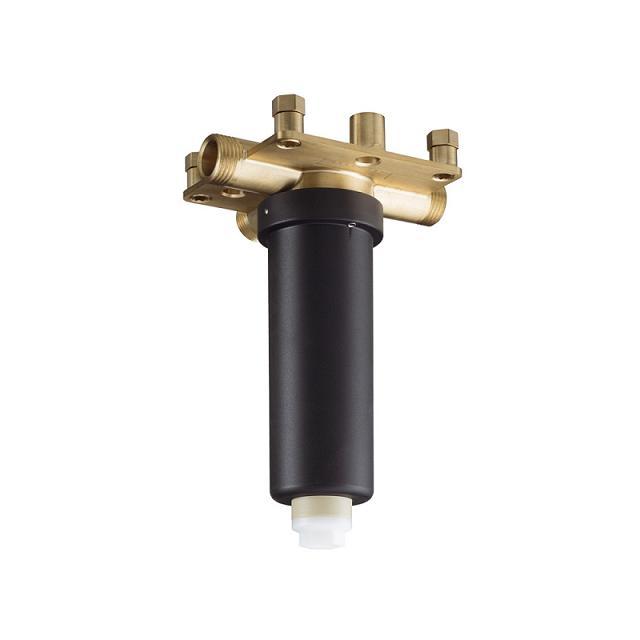 Hansgrohe Raindance základné teleso pre hornú hlavovú sprchu Rainmaker Select s prívodom zo stropu 24010180