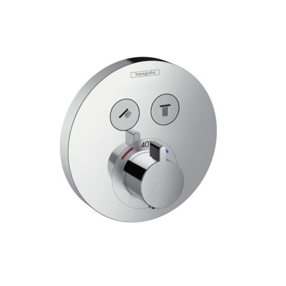 HANSGROHE ShowerSelect S vaňová batéria termostatická chróm 15743000