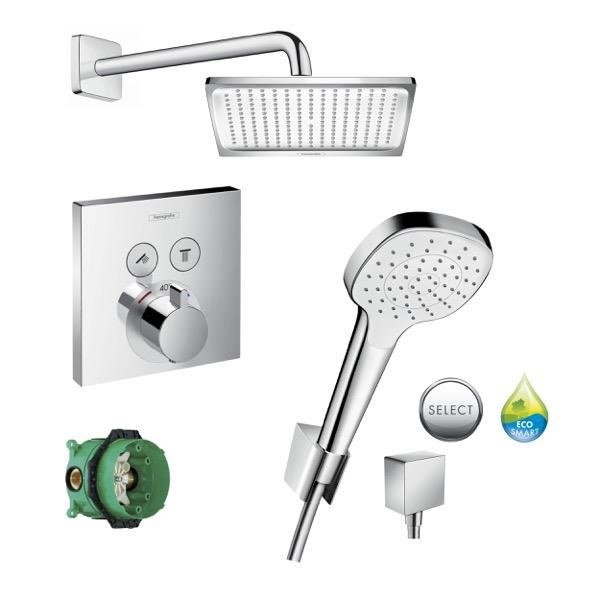 HANSGROHE SHOWERSELECT sprchový SET 8v1 chróm/biela
