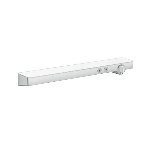 Hansgrohe ShowerTablet Select termostatická sprchová batéria 700 s poličkou pre 2 spotrebiče biela/chróm  13184000