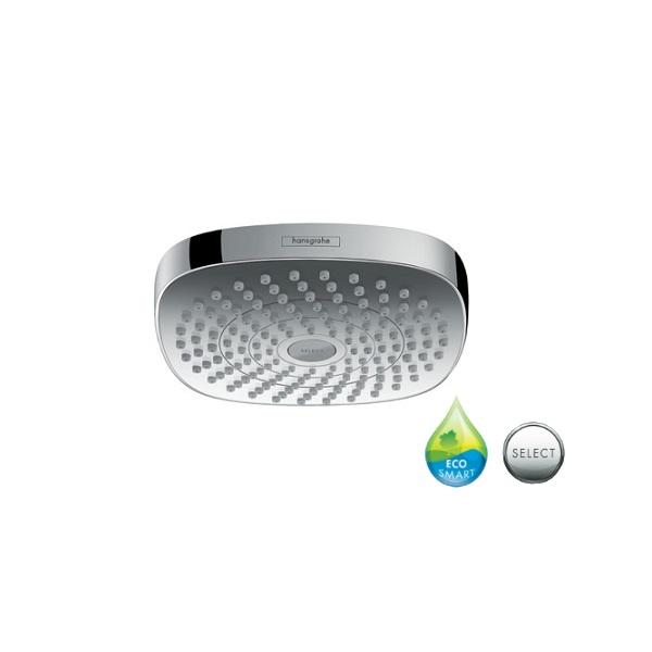 HANSGROHE sprcha hlavová horná CROMA Select E 180 2jet EcoSmart biela/chróm 26528400