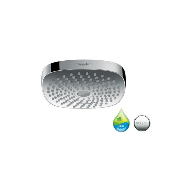HANSGROHE sprcha hlavová horná CROMA Select E 180 2jet EcoSmart chróm 26528000