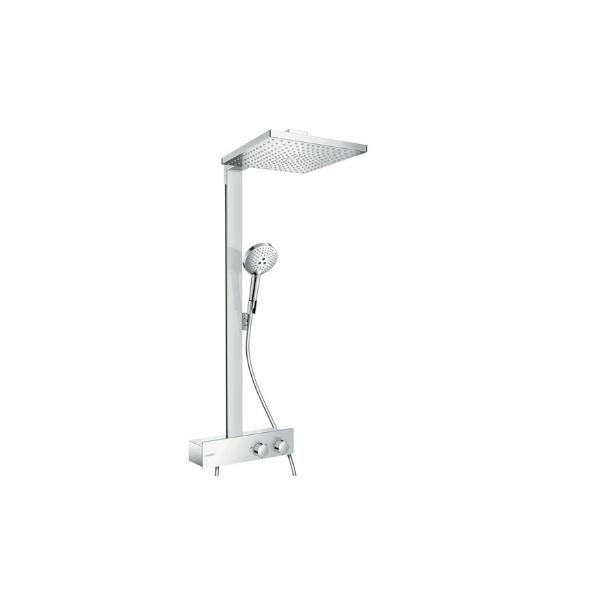 HANSGROHE systém sprchový RAINDANCE E 300 1jet Showerpipe s termostatom ShowerTabelet 350 ST chróm 27361000
