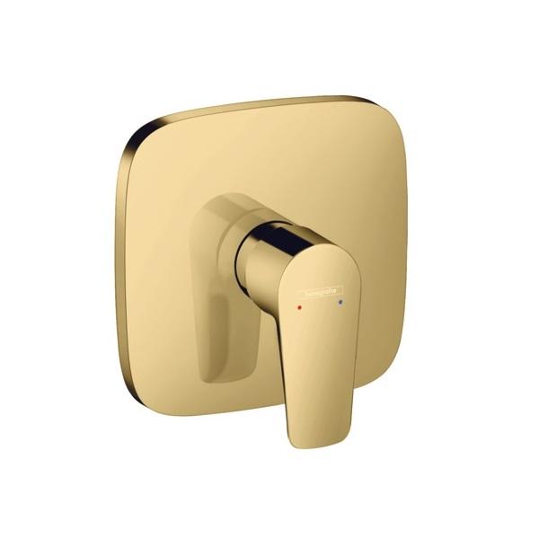 HANSGROHE Talis E páková sprchová batéria pod omietku leštený vzhľad zlata 71765990