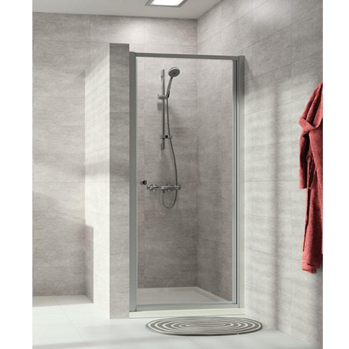 HÜPPE ALPHA 2 PT80 dvere sprchové pivotové str. pololesklá číre sklo AP