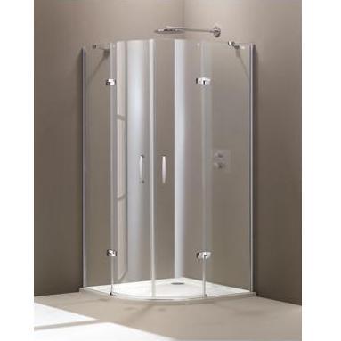 HÜPPE Aura sprchový kút 1/4-kruh 100 2-krídlové dvere 400802092322