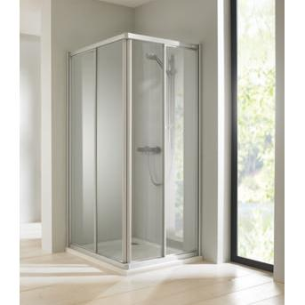 HÜPPE Classics Elegance 1000x1000 sprchový kút posuvné dvere 286554