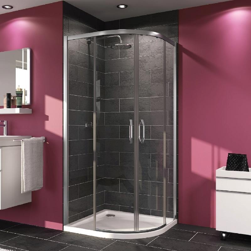 HÜPPE MyFlex sprchové dvere 1/4- kruh vyhotovenie na mieru